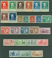 EDW1949SELL : PORTUGAL 1940-47. 4 Complete sets. Very Fine, Mint Original Gum