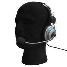 Male Foam Flocking Head Model Glasses Headset Wig Display Tool Mannequin Us