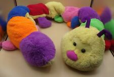 "64"" Jumbo VINTAGE GOFFA Rainbow Mulit-colored Caterpillar Bug Plush RARE"