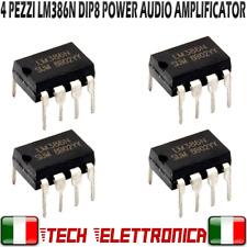 4 Pezzi LM386N integrato LM 386 amplificatore audio