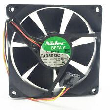 1PC Nidec 9025 12V 0.50A TA350DC M34709-57 server cooling fan