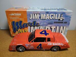 1983 Mark Martin #4 Jim Magill Orange Monte Carlo CWB 1:24 NASCAR Action MIB