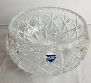 Edinburgh crystal Cut Glass fruit bowl