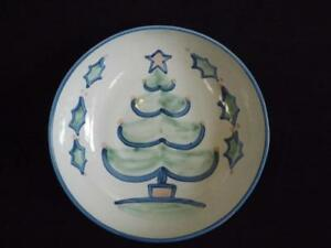 """MA Hadley Large Christmas Tree Serving Bowl 11"""" Wide Excellent"""
