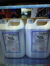 4 X 5LT BLACK FLUID DISINFECTANT OUTDOOR FLUID  STRONG DILUTES 20 LITRES TOTAL