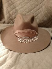 Nancy Hughes vintage cowgirl hat - pre owned - size 7 cute!