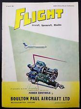 Vintage Flight Magazine, Aircraft, Spacecraft, Missiles- 6 July 1961