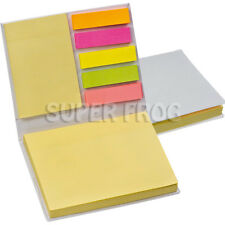 Sticky Memo Note Index Tabs Desktop Organizer Bookmarks Notepad Notebook Post