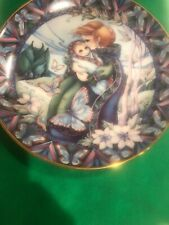 """Reco International Collector Plate"""" The Beauty of Life"""" 1990 Mother's Day Usa"""