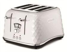 DeLonghi CTJ4003 Brillante 4 Slice Toaster - White