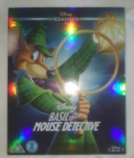 Basil the Great Mouse Detective - Blu-ray - Walt Disney Classic - Slipcover