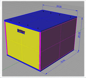 """DIY PLANS for 20"""" 24"""" 30""""  PLYO-BOX. JUMP EXERCISE. GYM. MATERIALS NOT INCLUDED"""