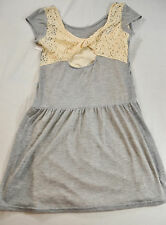 NWT! WOMENS XHILARATION SUMMER DRESS SIZE SMALL JUNIOR  GRAY AND BEIGE
