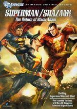 Superman Shazam Return of The Black a 0883929104451 DVD Region 1