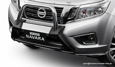 Nissan Navara NP300 Alloy Nudge Bar F2064-4KE0BAU (BLACK)
