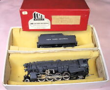 RARE LMB Brass NYC P&LE H10b 2-8-2 HO steam engine & tender 2380, NICE box set