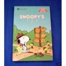 Snoopys 1,2,3 Concept bks (Golden Books for Begin