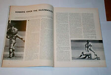 1968 Sports Illustrated DETROIT TIGERS win WORLD SERIES ! Mickey Lolich !