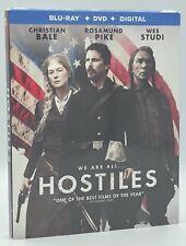 Hostiles (Blu-ray+DVD+Digital, 2018; 2-Disc Set) NEW w/ Slipcover