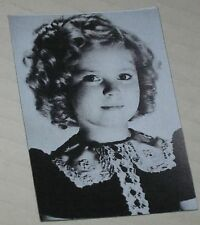 """Shirley Temple /""""The Curls/"""" Floppy Magnet  See Description 2.5/"""" x 2/"""""""