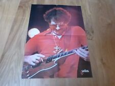 AC/DC - ANGUS YOUNG & SANTANA - Poster Best ! VINTAGE 70'S !! FRENCH