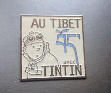 RARE  Pin's Tintin au TIbet Fondation Hergé   PARFAIT ETAT  TDL 377