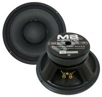 "One 10"" Mid-Bass Woofer 1000 Watts 4 Ohm MB Acoustics MB-101K/SM Car & Pro Audio"