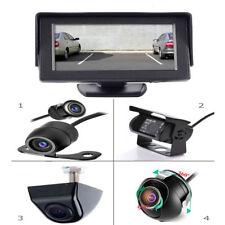 "10,7 cm 4"" Zoll Rückfahrsystem Rückfahrkamera mit Monitor für Auto KFZ PKW Kabel"