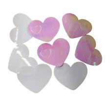 Konfetti XL, Herzen weiß & rosa Herzkonfetti Hochzeit Valentinstag