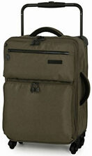 IT Luggage World's Lightest Tritex 4 Wheel Spinner SuitcaseCabin Beech New