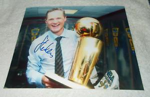 STEVE KERR Golden State Warriors SIGNED AUTOGRAPHED 8x10 Photo COA