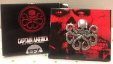 EFX Collectibles Marvel Comics Captain America Hydra Pin Prop Replica-NEW In BOX
