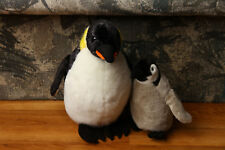 National Geographic Emperor Penguin Stuffed Plush Set 2003 Stuffed Animal