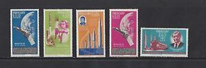 PARAGUAY  #836-839; 842  MNH  -  1964