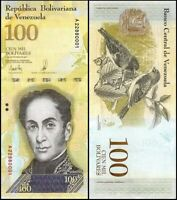 VENEZUELA 100000 (100,000) Bolivares, 2017, P-100, UNC World Currency