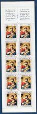 Carnet Croix Rouge - Numéro 2051 Année 2002 Le sommeil de l'enfant Jesus