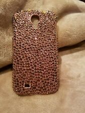 bronze crystal galazy s4 phone case