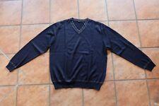 Herren Pullover Jockey schwarz Größe L 52 Schurwolle/Acryl