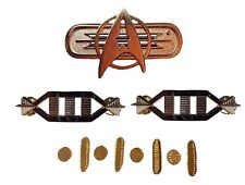 Metal Enamel Pins for an Captain Rank Star Trek Movie Uniform Full Set of