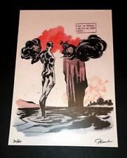 Stampa Giuseppe Palumbo Diabolik numerata e firmata esclusiva Comic House!