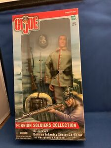 GI Joe Hasbro 1:6 Scale FOREIGN SOLDIERS COLLECTION WWI German Infantry Corporal