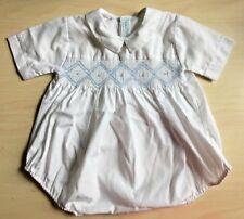 Vintage Boys Smocked Outfit Romper One Piece for Christening Easter Philippines
