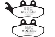 FIT DERBI  Senda 125 SM (Twin headlight) 04>07 EBC FRONT SINTERED BRAKE PADS
