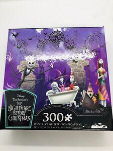 Ceaco Disney Tim Burton's Nightmare Before Christmas 300 Pc Jigsaw Puzzle 2237-4