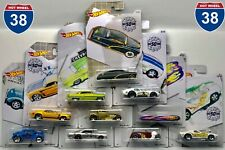 2019 Hot Wheels Larry Woods 50th Anniversary Complete set of 10