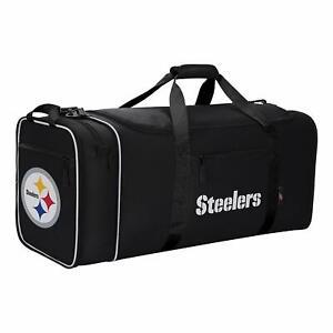 NFL Football Pittsburgh Steelers Sports Bag Duffle Steal Bag Northwest
