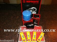 NISSAN FIGARO SERVICE KIT - FULL KIT -AIR,FUEL,OIL FILTER & NGK SPARK PLUGS