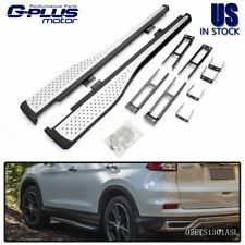 Aluminum Running Boards Pair Set Side Step Rails OE Style For 2012 -16 Honda CRV