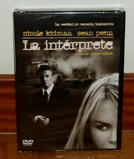 LA INTERPRÈTE THE INTERPRÈTE DVD NEUF SCELLÉ THRILLER THRILLER (SIN OUVRIR)