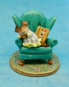 Wee Forest Folk MOUSE TALES, I Love WFF Club Piece 2017, Mouse Expo